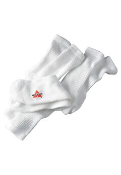 Wigwam® 6-Pack Athletic White Crew Socks,