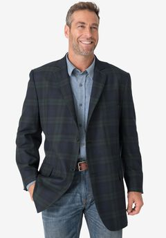 Herringbone Blazer by KS Signature ,