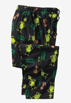 Holiday Pajama Pants, GRINCH MAX