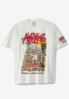 Akademiks® Electric City Graphic T-Shirt ,