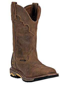 Dan Post Blayde 11' Shaft Distressed Soft Toe Boot,