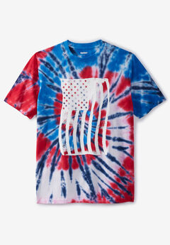 Tie-Dye Screenprint Tee,