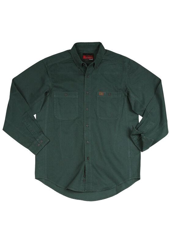 Long Sleeve Cotton Work Shirt By Wrangler Alternate