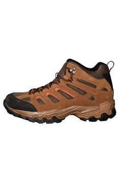 Rugged Lace-up Hiking Boots by Boulder Creek®,