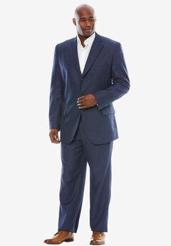 Easy Movement® Three-Button Jacket by KS Signature, NAVY PINDOT, hi-res