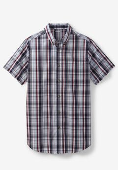 Shrink-Less™ Short Sleeve Sport Shirt,