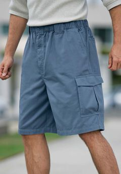 9' Renegade Cargo Shorts with Full Elastic Waist by Boulder Creek®,