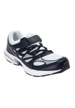 KingSize No-Tie Sneaker, NAVY WHITE, hi-res