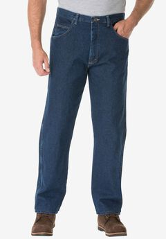 Relaxed Fit Classic Jeans by Wrangler®, ANTIQUE NAVY, hi-res