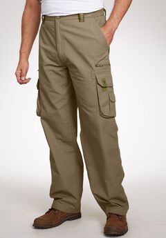 Ripstop Expedition Cargos by Boulder Creek®, DARK KHAKI