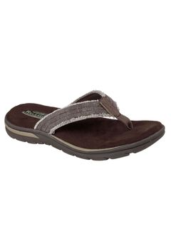 Supreme Bosnia Relaxed Fit Sandal by Skechers®, CHOCOLATE, hi-res