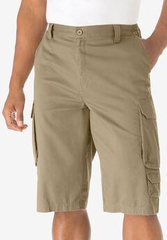 14' Cargo Shorts, KHAKI