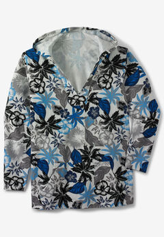 Pullover Gauze Hoodie,