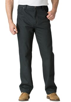 Relaxed Fit 5-Pocket Stretch Jeans by Liberty Blues®, BLACK