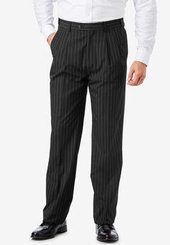 Easy Movement® Pleat-Front Expandable Dress Pants by KS Signature,