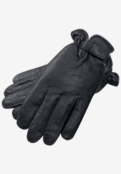 Adjustable Dress Gloves, BLACK, hi-res
