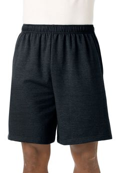 Fleece Comfort Shorts, BLACK, hi-res