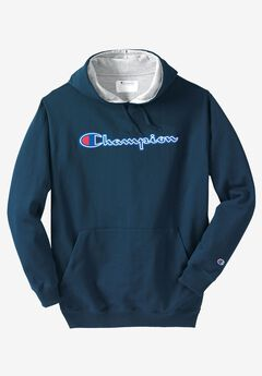Script Embroidered Pullover Hoodie by Champion®,