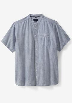 Band Collar Shirt by 56°4®,
