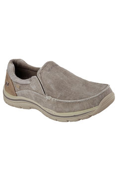 Expected Avillo Relaxed-Fit Slip-On Loafer by Skechers®, KHAKI, hi-res