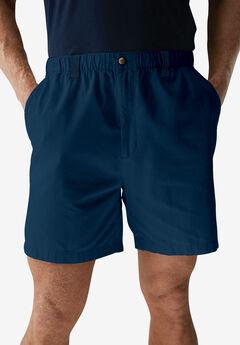 Knockarounds® 6' Pull-On Plain Shorts, NAVY