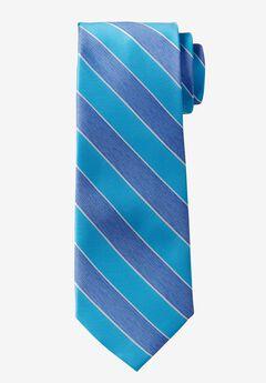 Extra Long Repp Stripe Tie,