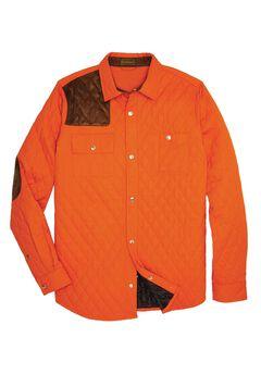 Shooter Shirt Jacket by Boulder Creek®, BRIGHT ORANGE, hi-res