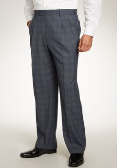 Easy Movement® Pleat-Front Expandable Dress Pants by KS Signature,