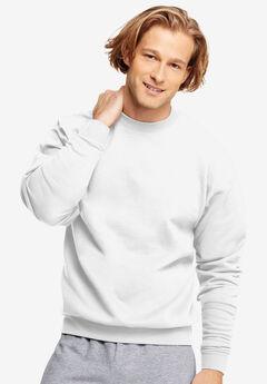 Hanes® Comfortblend EcoSmart Crew Sweatshirt, WHITE, hi-res