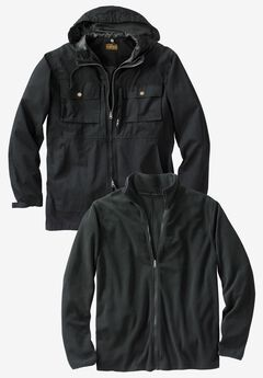 2-in-1 Resistance Jacket by Boulder Creek®,
