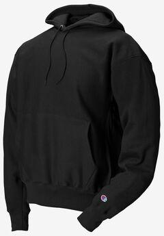 Reverse Weave Hoodie by Champion®, BLACK, hi-res