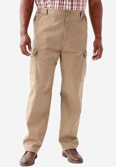 Flex Knit Cargo Pants, DARK KHAKI, hi-res