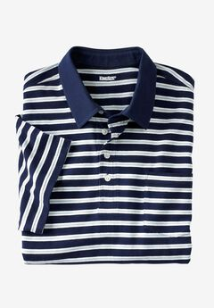 Perfect Golf Polo , BLUE HARBOR STRIPE, hi-res