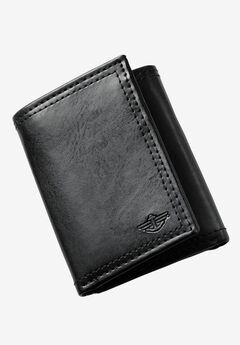 Trifold Wallet by Dockers®, BLACK, hi-res