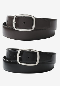 Reversible Leather Dress Belt,