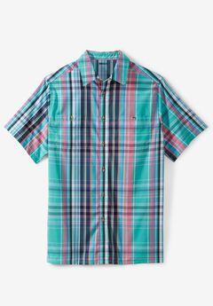 e3859f7aac0 Short-Sleeve Madras Sport Shirt