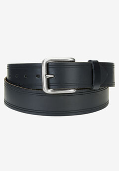 Edge Embossed Belt by Wrangler®, BLACK, hi-res