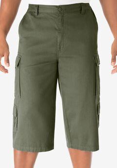 17' Cargo Shorts, OLIVE, hi-res
