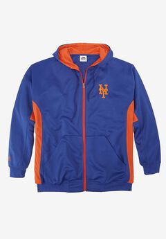 MLB® Logo Colorblock Zip Front Sweatshirt,