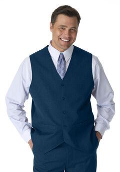 Suit Vest by Kings' Court®, NAVY, hi-res