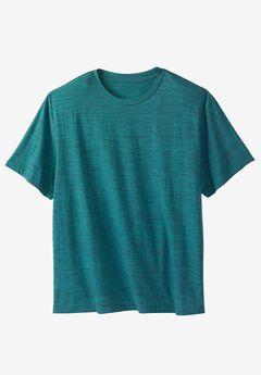 Crewneck Flex Short-Sleeve Tee by Liberty Blues® ,