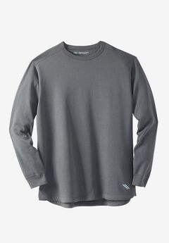 Wicking Fleece Crewneck Sweatshirt by KS Sport™,