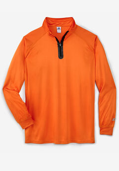 Quarter Zip-Front Pullover by Russell Athletic®,