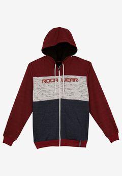 Three Tone Zip Hoodie by Rocawear®,