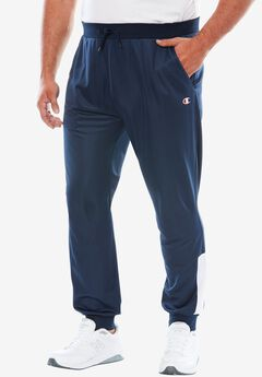 Velour Colorblocked Track Pants by Champion®,