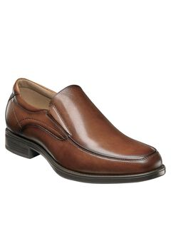 Florsheim® Midtown Black Moc Toe Slip-On,