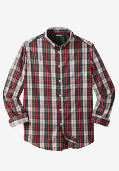 Wrinkle-Resistant Plaid Shirt,