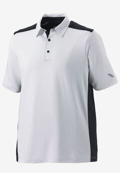 Tech Polo by KS Sport™, WHITE, hi-res