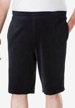 Velour Shorts,