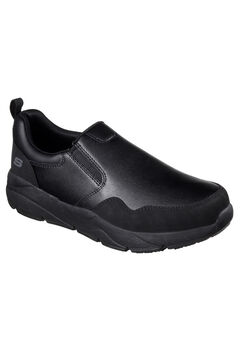 Work Resterly Slip-on by Skechers®, BLACK, hi-res